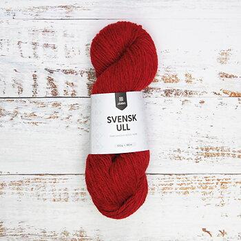 Svensk Ull 100 g - Falu Red