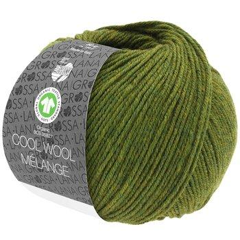 Cool Wool Melange GOTS - 113 Oliv melerad