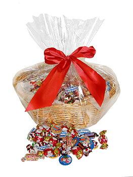 CHOKLADBUDET - Härlig julkorg med 5 kg choklad