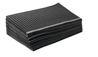 Pappersservetter, svart 33x46 cm, 125 st