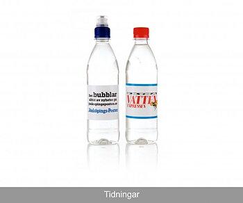 Vatten 50cl  med Transparant etikett (ej kolsyrat)