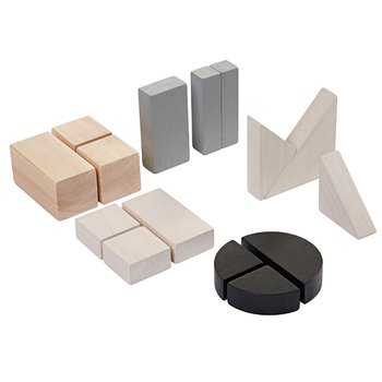 Ekologiska byggklossar (Fraction blocks) / PlanToys