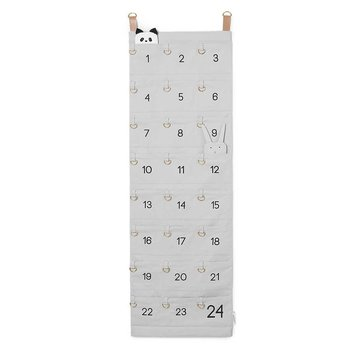 Ekologisk adventskalender (Solid dumbo grey) / Liewood