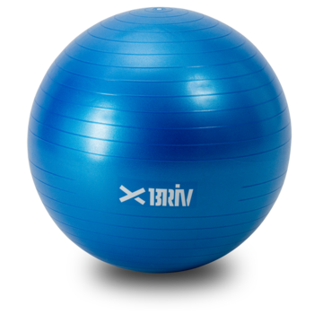 Yoga/tränings boll 65 - Blå