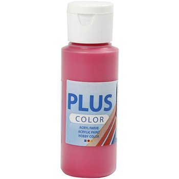 Plus Color Hobbyfärg, Primärröd, 60 ml, 1 Flaska