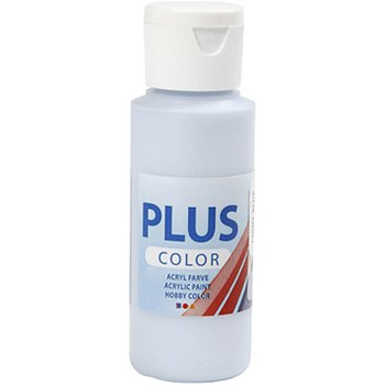 Plus Color Hobbyfärg, Ljusblå, 60 ml, 1 Flaska