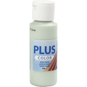 Plus Color Hobbyfärg, Vårgrön, 60 ml, 1 Flaska