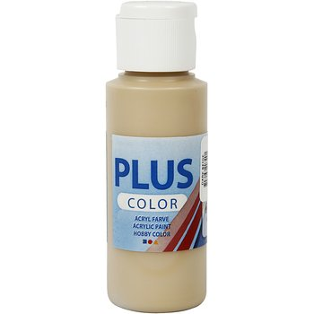 Plus Color Hobbyfärg, Dark Beige, 60 ml, 1 Flaska