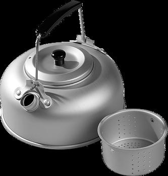 Kaffepanna Aluminium 0,8 liter