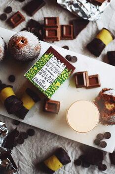 Ät choklad! Bärnsten & Tonkaböna. Klinta