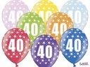 Ballonger 30cm, 40 år , Metallic Mix