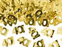 Metallisk konfetti, nummer 40, 15g