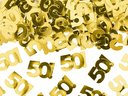 Metallisk konfetti, nummer 50, 15g