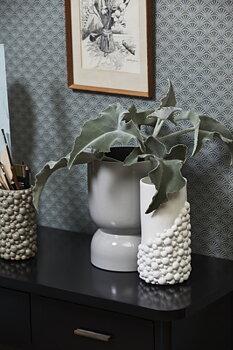 NAXOS vase, L, white