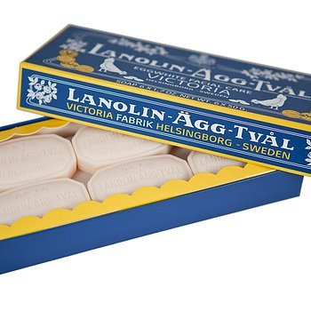 Lanolin Eggwhite Facial Soap US 6-pack (6x50g)