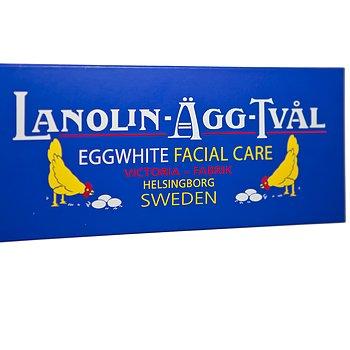 Lanolin Eggwhite Facial Soap 6-pack (6x50g)