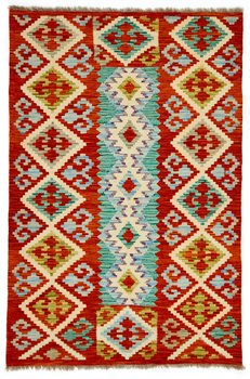 Afghansk Kelim 99 x 152 rost
