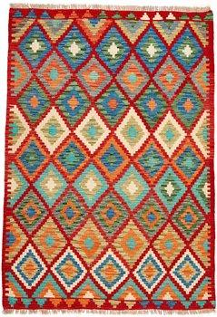 Afghansk Kelim 130 x 186 rost