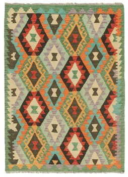 Afghansk Kelim 103 x 143 rost