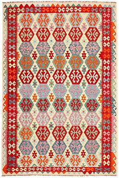 Afghansk Kelim 204 x 309