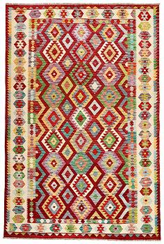 Afghansk Kelim 203 x 307