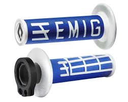 Handtag Lock-On ODI EMIG (blå-vit)