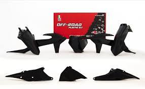 Plastkit Racetech | KTM 125 (Svart)