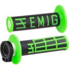 Handtag Lock-On ODI EMIG (grön-svart)