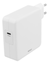 DELTACO USBC-AC117 - Power Adapter - 87 Watt - Fast Charge (USB-C) - vit