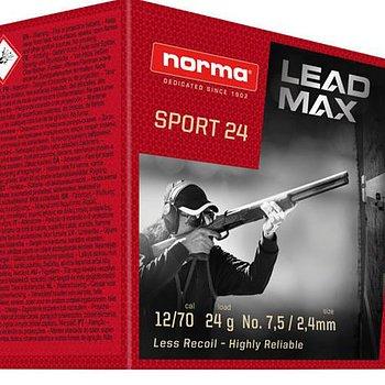 NORMA LEAD MAX ® SPORT 24 12/70 US9