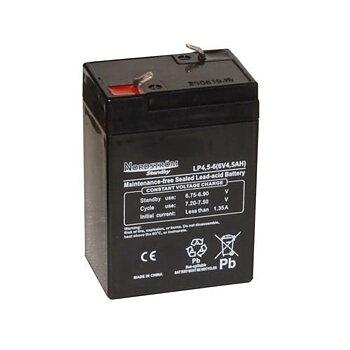 Batteri 6 Volt-4,5 Ah Blyack.Åtel/Larm