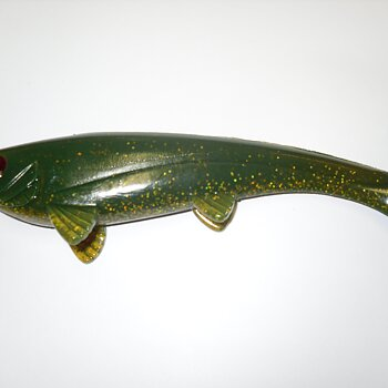 Southstream Lures Viggen Green Glitter