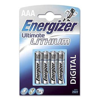 Batteri AAA. Litium 4st.Energizer