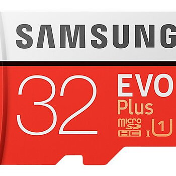 Samsung EVO Plus 32GB microSDHC