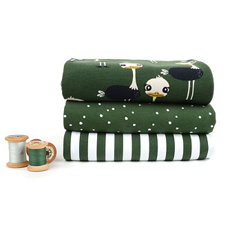 MINI SPOTS - DARK GREEN