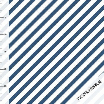 DIAGONAL STRIPE - DARK BLUE