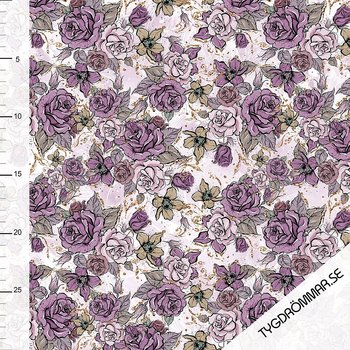 SPARKLING ROSES - PURPLE