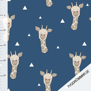 GIRAFFE - DARK BLUE