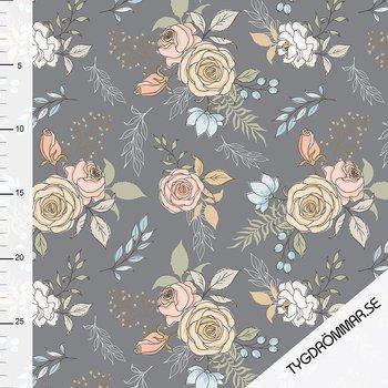 GARDEN FLOWERS - GRAY