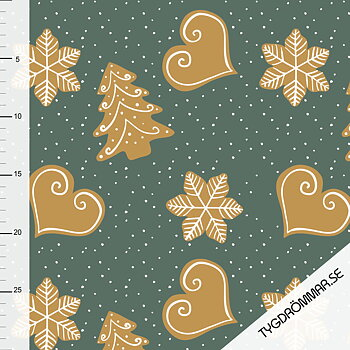 GINGER BREAD - FOREST GREEN