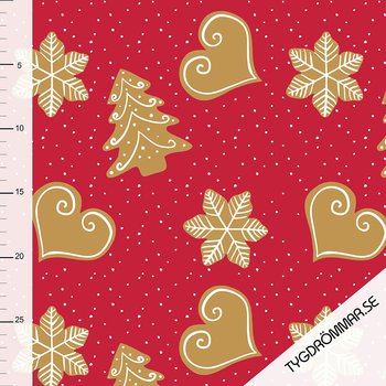 GINGER BREAD - LIGHT RED