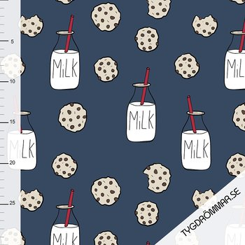MILK AND COOKIE - DARK BLUE