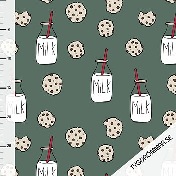 MILK AND COOKIE - FOREST GREEN