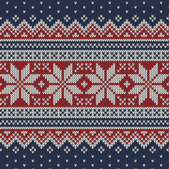 X-MAS KNIT - STAR