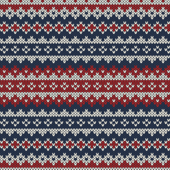 X-MAS KNIT - STRIPE