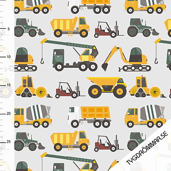 CONSTRUCTION VEHICLE - DARK GREEN