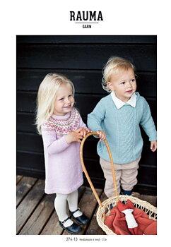 Barnklänning i Rauma Inca 274-13