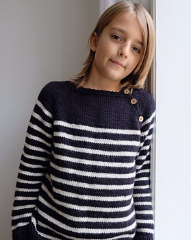 Seaside sweater Junior, PetiteKnit
