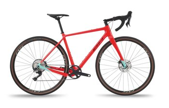 BH BIKES GRAVEL X CARBON 3.0 GRX810 11 VXL 2021 - RÖD - MEDIUM