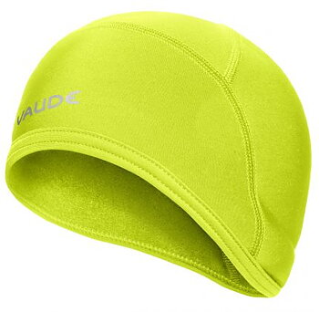VAUDE Bike Warm Cap Medium - Neongul